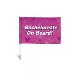 Bachelorette Car Flag
